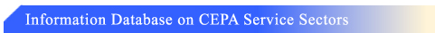 Information on Database on CEPA Service Sectors